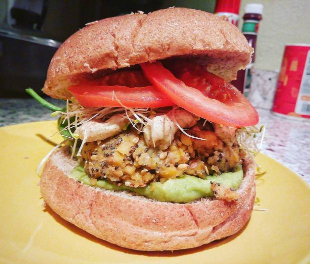 chickpea-burger-bowl-of-beans